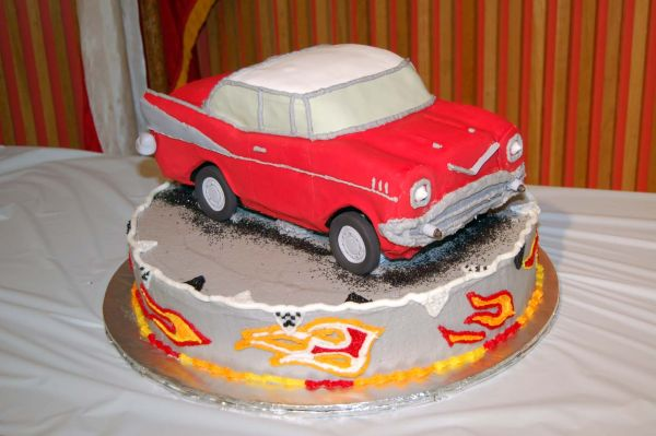 1957 Chevy Cake
