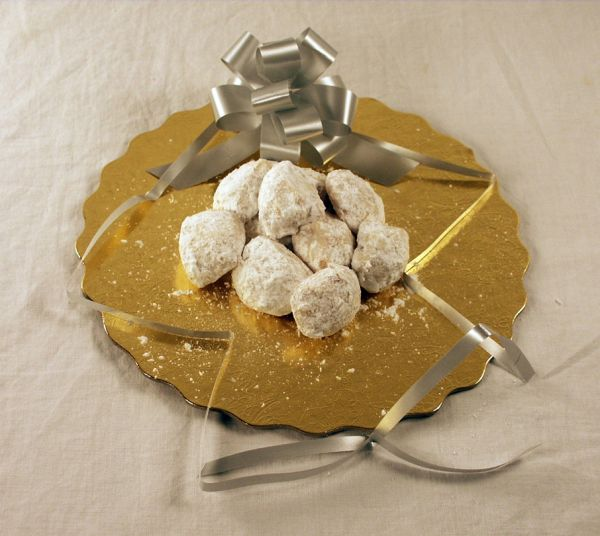 Festive Mexican Wedding Cookies