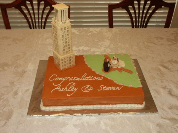 Ut Tower Cake Texas Rose Bakery