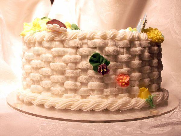 Basket Weave Cake