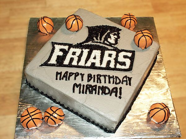 Providence Basketball Frier's Cake