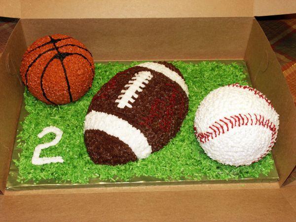 Basketball Baseball Football