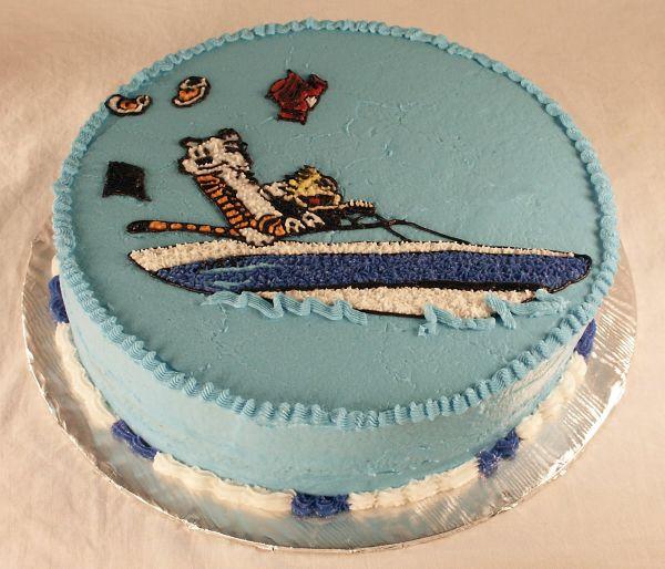 Calvin and Hobbs Cake