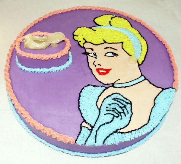 Cinderella Slipper Cake