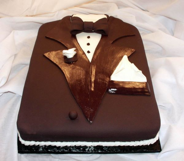 Grooms Tuxedo Cake