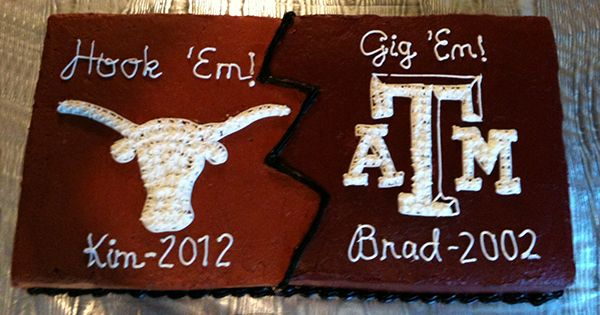 Aggie cake UT cake