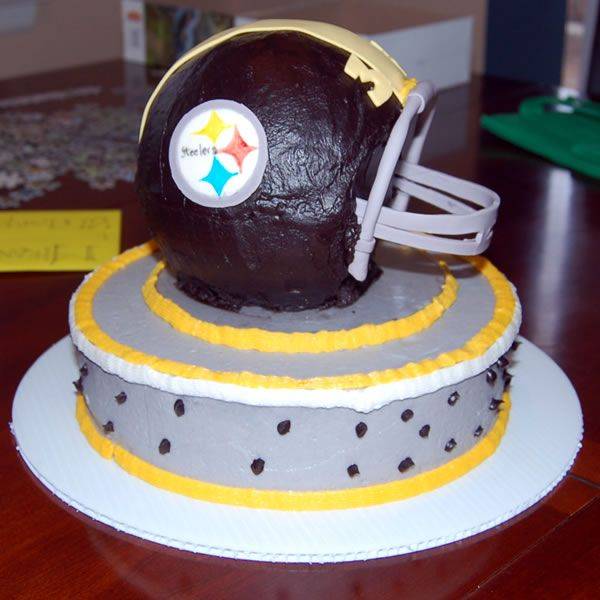 Pittsburgh Steelers Chocolate Cake Texas Rose Bakery