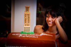 UT Tower Cake