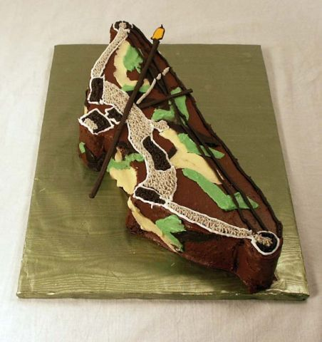 Bow and Arrow Cake
