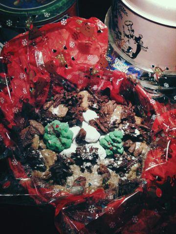 Christmas Cookies Tray