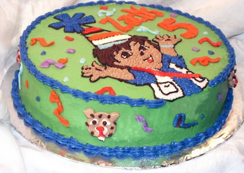 Diego Birthday Cake