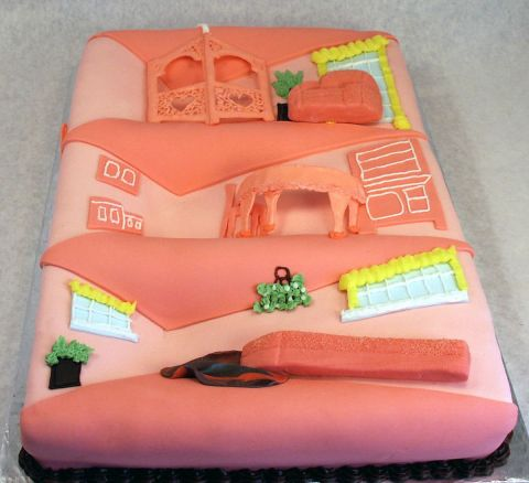 Barbie Dream House Cake