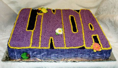 Birthday Cake for Linda