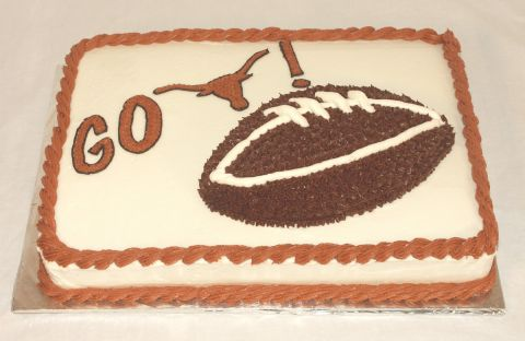 Go Longhorns Football Cake