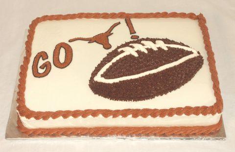 Go Longhorns Football Cake