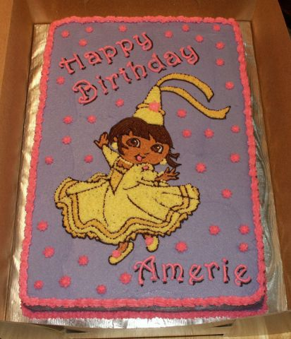 Princess Dora Cake
