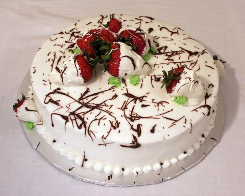 Strawberry Splash Cake