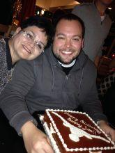 longhorn birthday, longhorn, burnt ornage cake