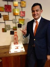 UT Tower, UT graduation Rice Krispy UT tower