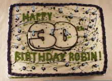 Happy 30th Cake