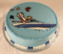 Calvin and Hobbs Cake