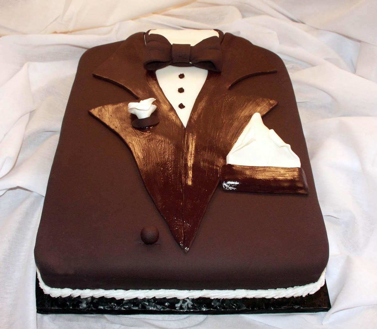 Groom S Tuxedo Cake Texas Rose Bakery