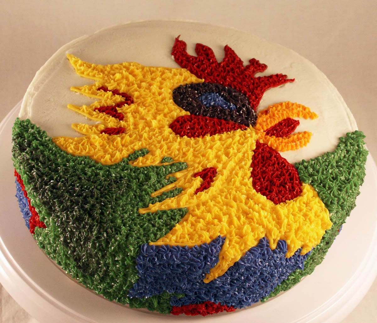 rooster cake texas rose bakery
