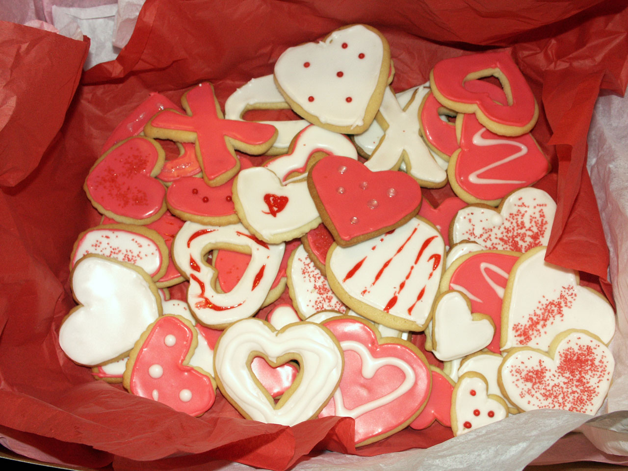 Valentines Sugar Cookies | Texas Rose Bakery